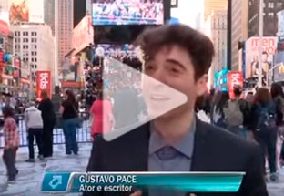 TV article about gustavo pace and the show